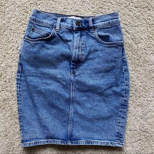 & Other Stories Denim Mini Skirt NWOT